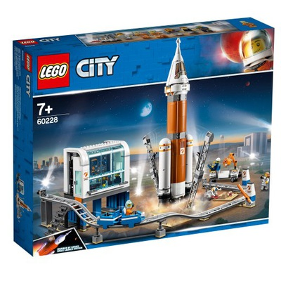 LEGO CITY 60228 space flight Center