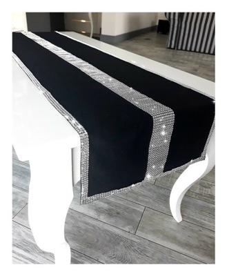 ПРОТЕКТОР СКАТЕРТЬ на стол стразы 40x150 гламур