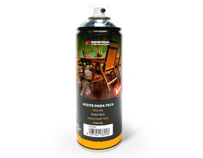 Olej Teak do Drewna i Mebli Ogrodowych spray 400ml