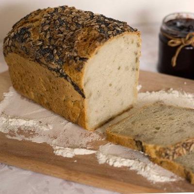 Хлеб домашний деревенский домашний на закваске