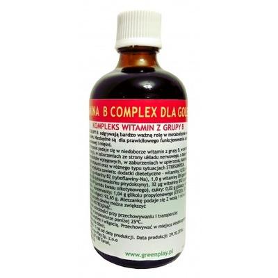 GREEN PLAY Витамин B -complex 100 мл