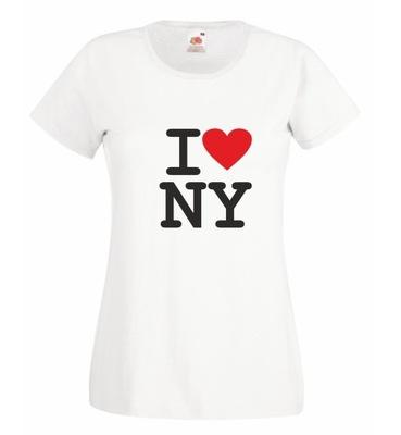 Koszulka damska I LOVE NEW YORK r L