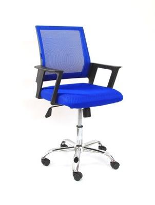 Krzesło biurowe dla dziecka CZARNE MATRIX 24H 7795570007