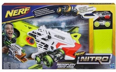 NERF NITRO AEROFURY RAMPA RAGE 2 auta E0408 Hasbro