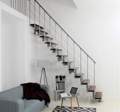 Широкие Лестницы instagram COMFORT Орех
