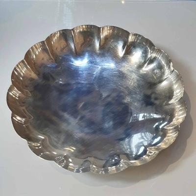 Серебряная миска для фруктов серебро pr. Ноль ,925, 255,4 г