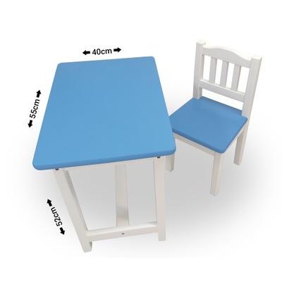 Маленький комплект детский - столик + стульчик