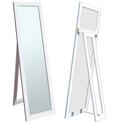 БОЛЬШИЕ зеркало в раме стоящие 160x50 белое Венге микс