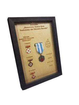 Стеллаж NEW на значки заслуженного HDK Рама