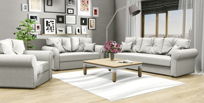 комплект Skandi ОТДЫХА 3 +2 +1 диван Кресло диван-кровать