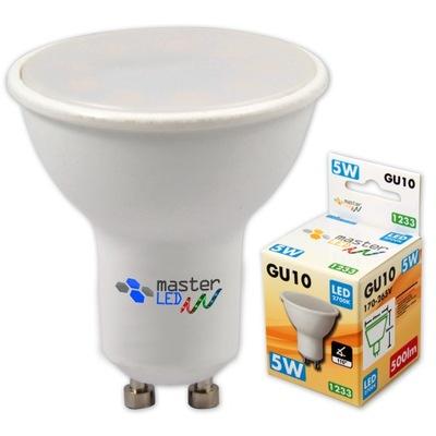 Лампа LED диод GU10 9 SMD 2835 5W 230 3 ЦВЕТА