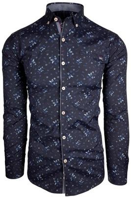 Koszula w zabawne wzorki odświeży klasyczny męski look