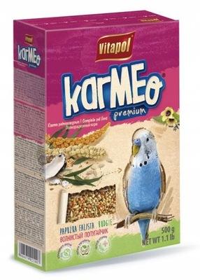 Vitapol корм для попугая волнистого Karmeo 500?