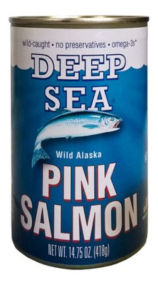 лосось с Аляски на шампуре 418g PINK SALMON