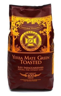 Yerba Mate green TOASTED Жареный 400 Г