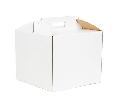 10xPUDEŁKO NA TORT OPAKOWANIE NA CIASTO 30x30x25cm