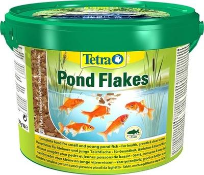 TETRA POND VLOČKY krmivo pre RYBY v jazierku 10 L