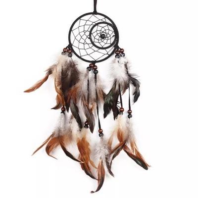 Ловец снов, индейский амулет черно-??????????