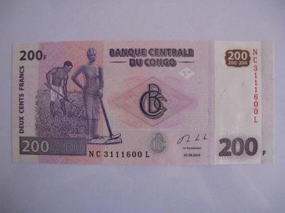 Конго - 200 Francs - 2013 - P99 -  .1