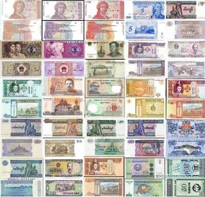 комплект банкнот мира UNC