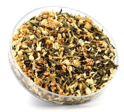 зеленый чай с жасмином 20 % Сенча премиум 50g