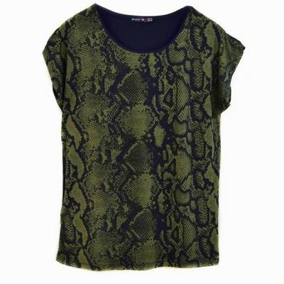 Świetna bluzka modne wzory r.XL WZÓR WĄŻ wężowe :)