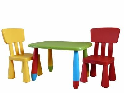 МАМОНТ 2 комплект микс столик+2 стульчики для кормления