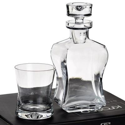 Signature графин 6 стаканов ??? виски 6 +1