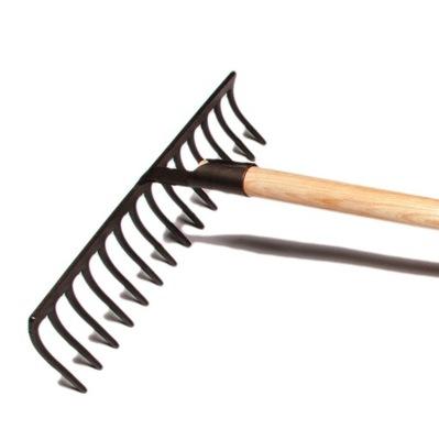 Krumpholz Metalowe Grabie Kute 14 zębne Mocne