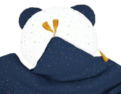MUŚLINOWA одеяло + Мишка подушка __ Одеяло 65x100