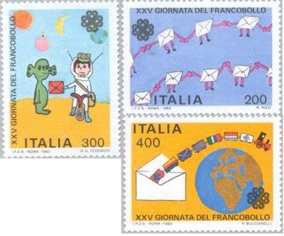 Италия 1983 Марки Мне 1864-6 ** Космос рисунки