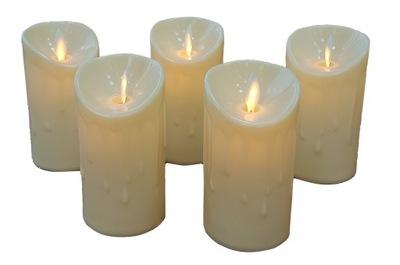 Свеча LED 11cm Подвижный пламя украшение