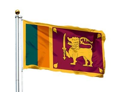 Flaga Sri Lanka 150x90 cm Flagi Sri Lanki