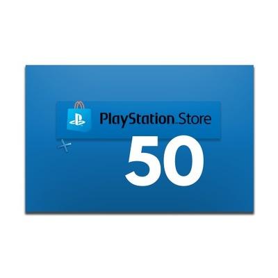 Doładowanie PlayStation Network 50 zł PSN