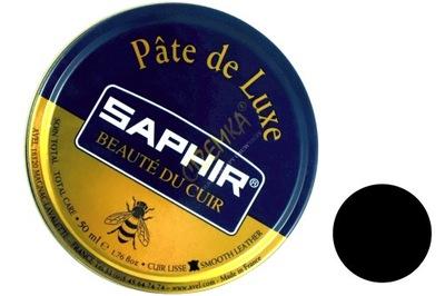 SAPHIR PASTA BUTÓW PATE DE LUXE 01 CZARNA 50