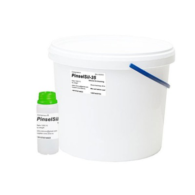 PinselSil-35 силикон для формы вязкой, кисти 10 кг