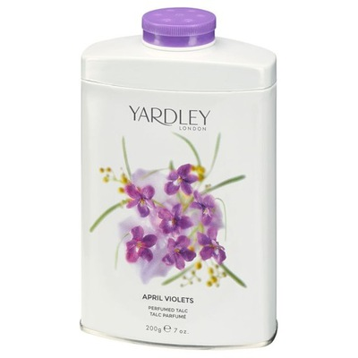 Yardley talk do ciała fiołek 200g
