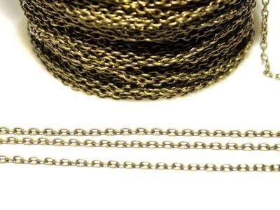 Цепочка Instagram один декоративный 100 см старые золото