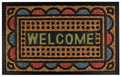 КОВРИК двери instagram коврик WELCOME Цвет