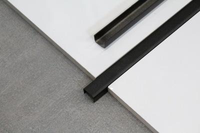 Listwa ozdobna dekoracyjna do płytek CZARNA C 10mm