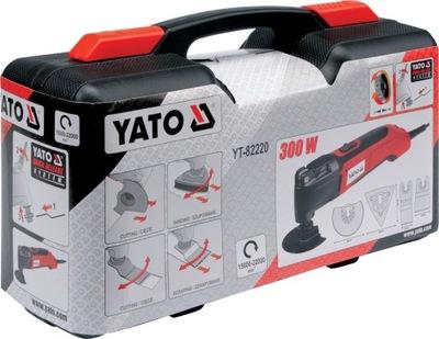 Brúska - YATO YT-82220 multifunkčný oscilačný nástroj