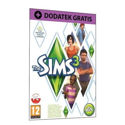 The Sims 3 Podstawa + DODATEK PL KOD KLUCZ ORIGIN