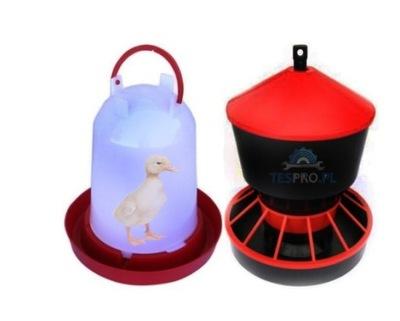 КОРМУШКА 6кг поилка 6 L комплект для кур цыплят