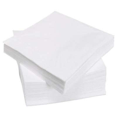 Serwetki Papierowe 33x33 1w BIAŁE Wesele 500 szt
