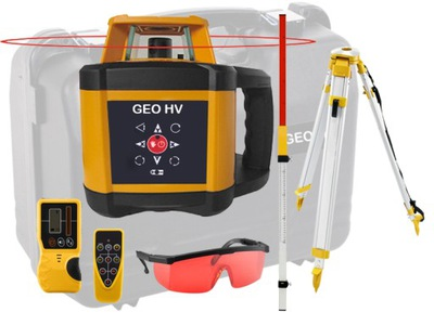 Niwelator laserowy GEO300 HV ZESTAW