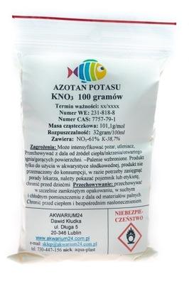 Азот KNO3 нитрат калия Чистый 99,9 % 100г подарки