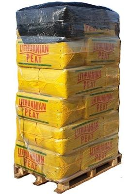 18x Rašelina je Kyslé HEATH 250L prepravné palety borowka