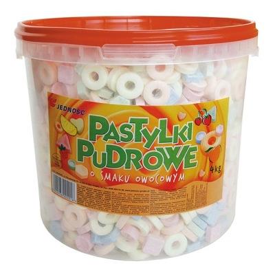 Конфеты Pastyllki  Фруктовые Единство 4кг