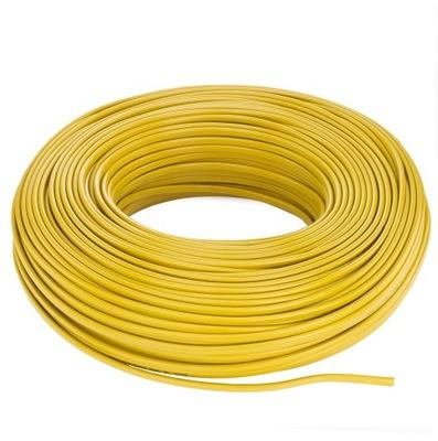 Kábel, drôt OMYp 2x0,75 zlato plochý kábel 100m