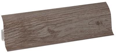 Планка напольного типа, ПОКРЫТИЕ с резинкой 60мм цвета